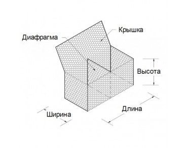 Сетка С60-2,2-Ц ГОСТ Р51285-99