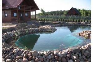 Строительство прудов и искусственных водоемов